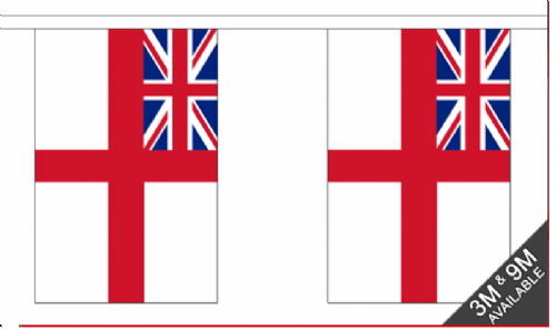 Bunting - Royal Navy (9'' x 6'' / 15 x 22.5 cm)
